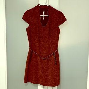 ce6b9c4b56dc6 Kensie Belted Tweed Dress